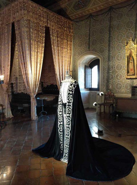 abito di scena di francesca indossato da eleonora duse