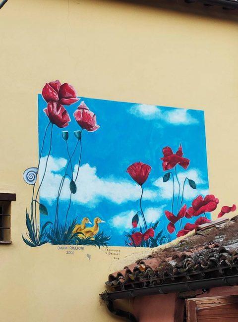 braccano murales papaveri