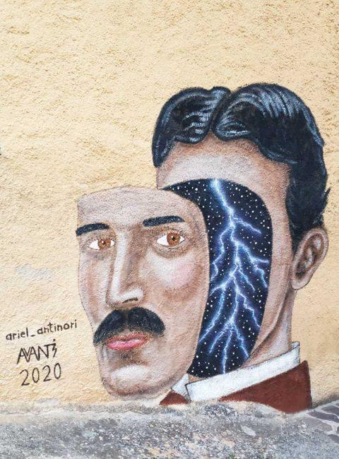 braccano murales uomo