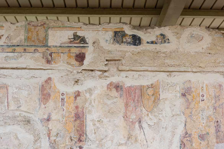 affreschi del parco archeologico urbs salvia