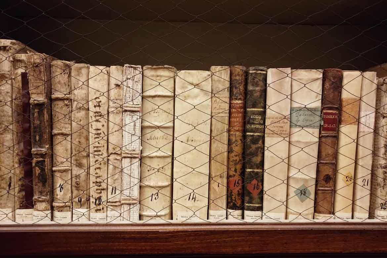 libri della biblioteca comunale di macerata