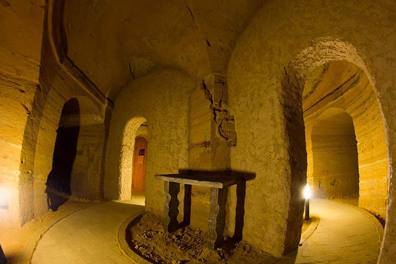 grotta mancinforte della città sotterranea di camerano